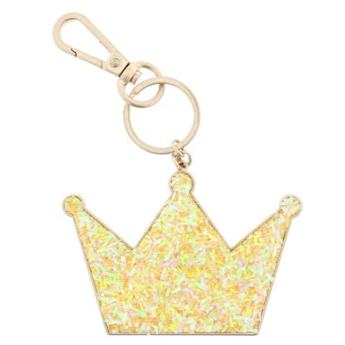 Confetti Crown Keychain
