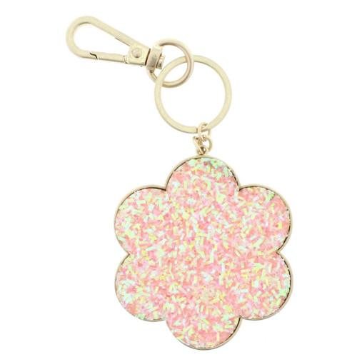 Confetti Flower Keychain