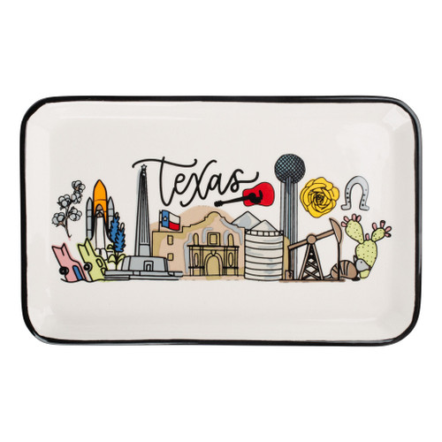 State of Texas Trinket Tray