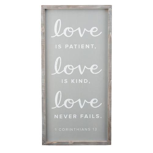Love Is Patient Board