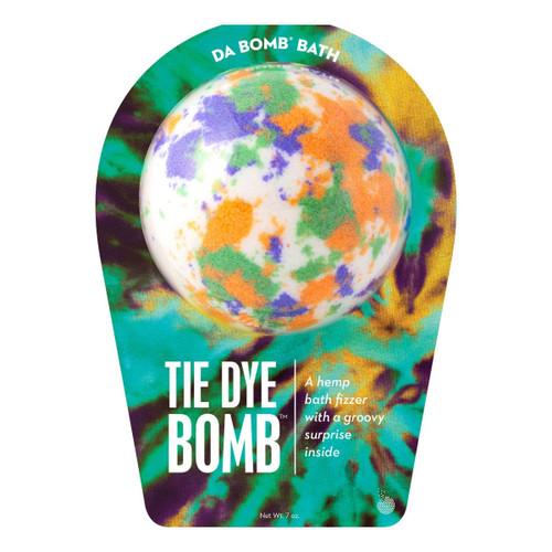 White Tie Dye Bath Bomb