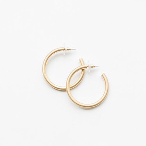 Gold Heather Earrings