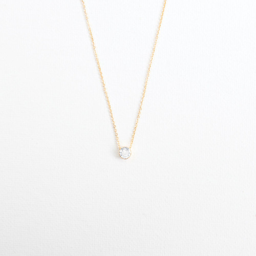 Gold Pave Necklace