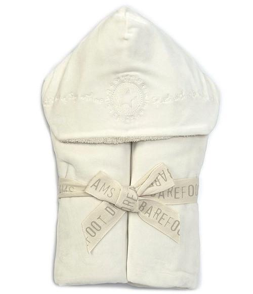 Cream Kid's Hooded Towel
