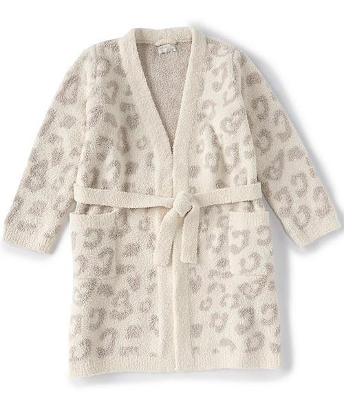 Large Cream BITW Women's Robe