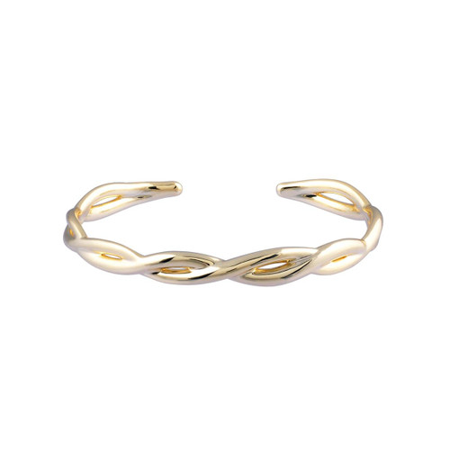 Bloom Gold Cuff Bracelet