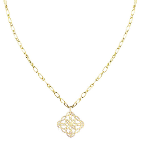 Bloom Gold Drop Necklace