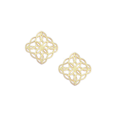 Bloom Gold Stud Earring
