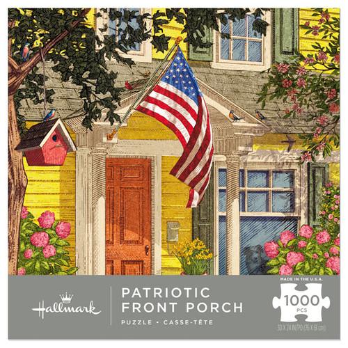 Patriotic Front Porch Puzzle