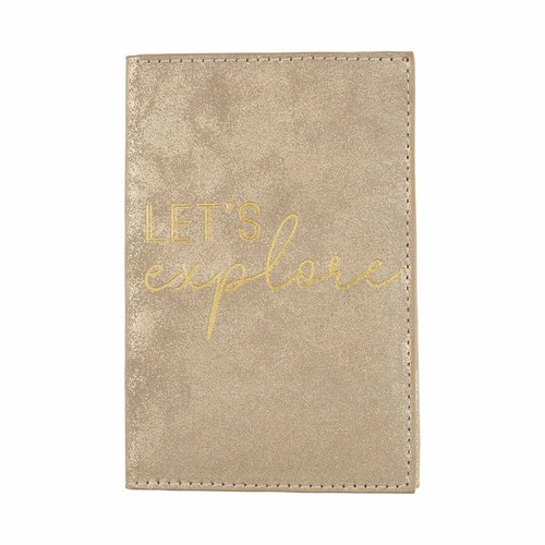 Travel Wallet Gold