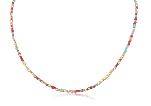 Watermelon Sugar Hope Unwritten Choker Necklace