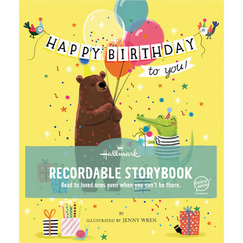 Happy Birthday To You Recordable Storybook