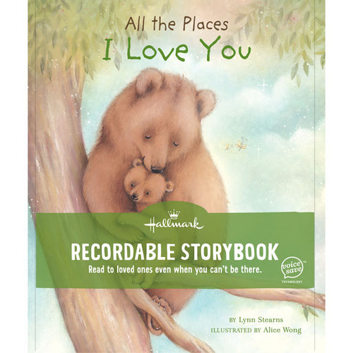 All The Places I Love You Recordable Storybook