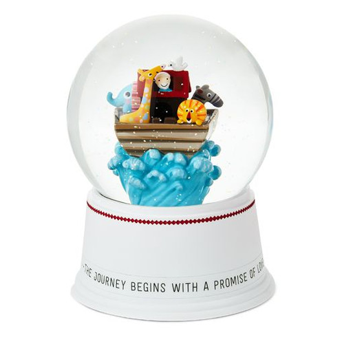 Noah's Ark Water Globe With Sound