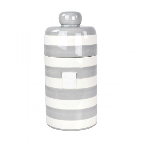 Stone Stripe Canister Happy Everything