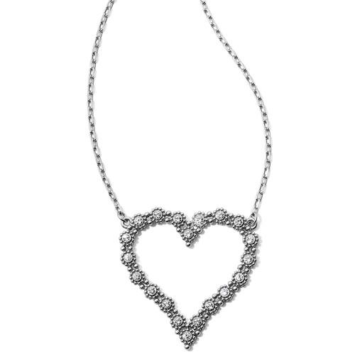 Twinkle Splendor Heart Necklace