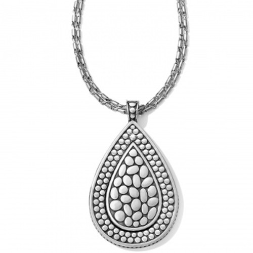 Pebble Teardrop Convertible Necklace