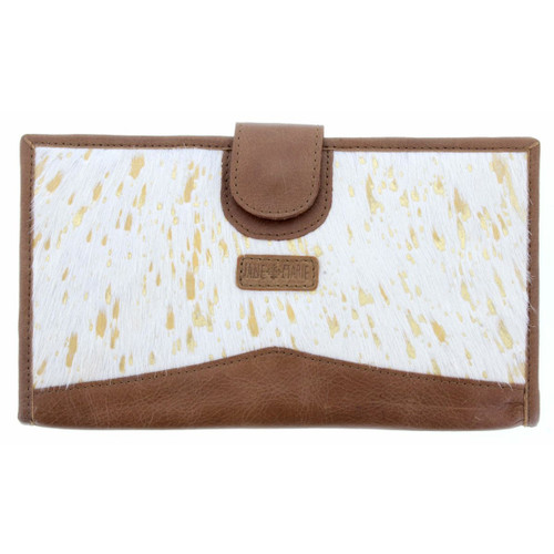 Mable Wallet White Gold Cowhide