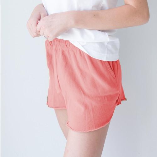 Large Randi Coral Shorts