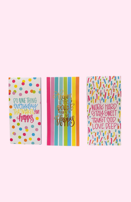 Work Hard Magnetic Notepad