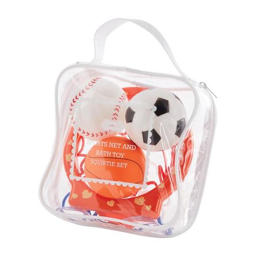 Sports Ball Bath Toy Set
