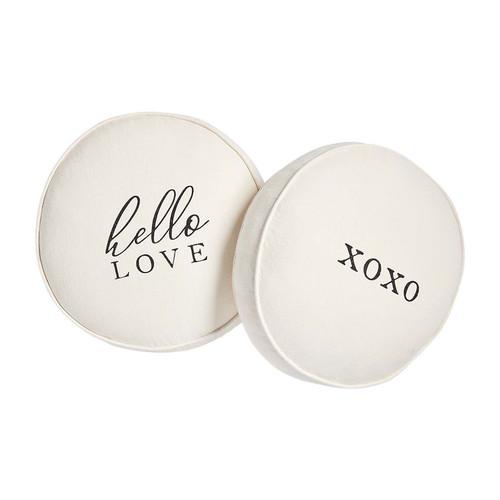 XOXO Round Love Pillow