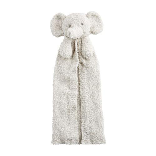 Elephant Chenille Lovey Blanket