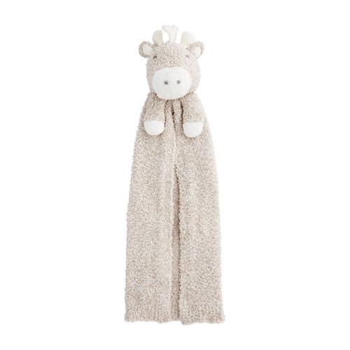Giraffe Chenille Lovey Blanket