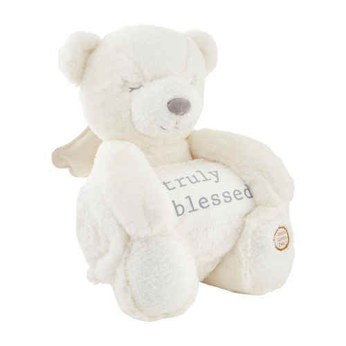 Angel Bear Plush With Blanket