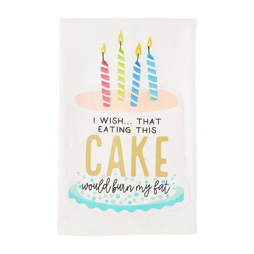 Birthday Cake Towel