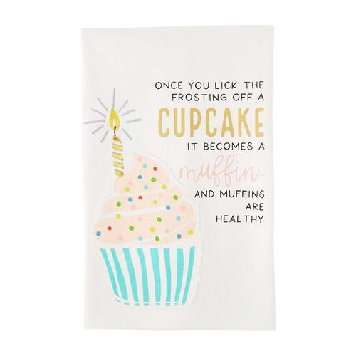 Birthday Cupcake Towel