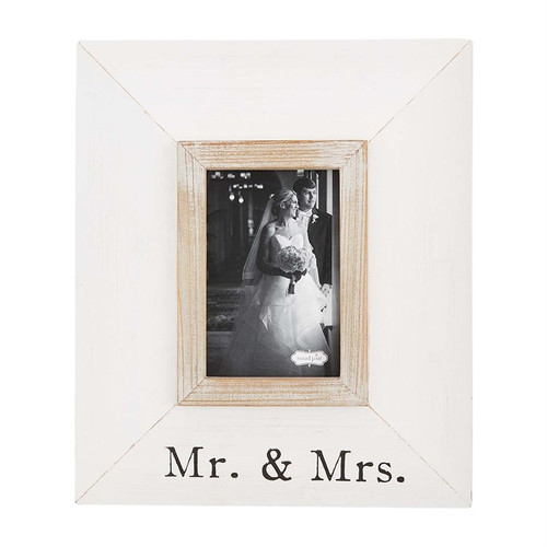 Mr and Mrs Wide Wood Frame