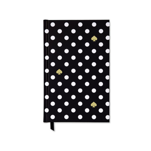 Black Polka Dot Journal