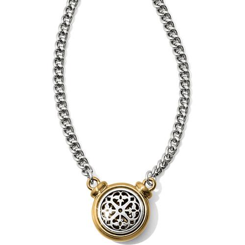 Ferrara 2 Tone Short Necklace