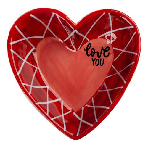 Love You Heart Dish