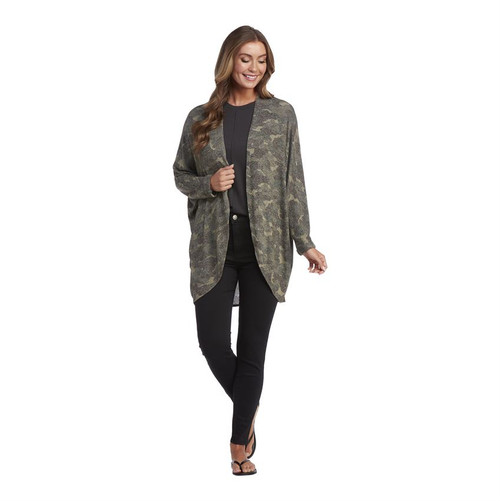 Green Colby Coccon Cardigan