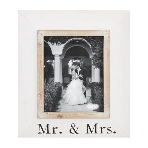 8x10 Mr and Mrs Wood Frame