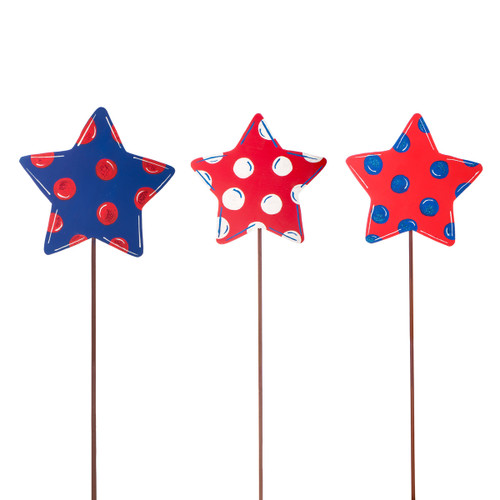 Polka Dot Small Star on Pick