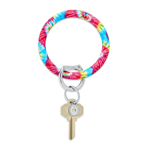 Rainbow Tie Dye Silicone O Ring
