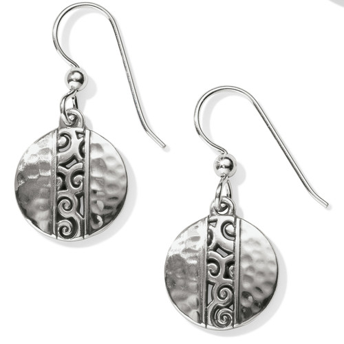 Mingle Disc French Wire Earring