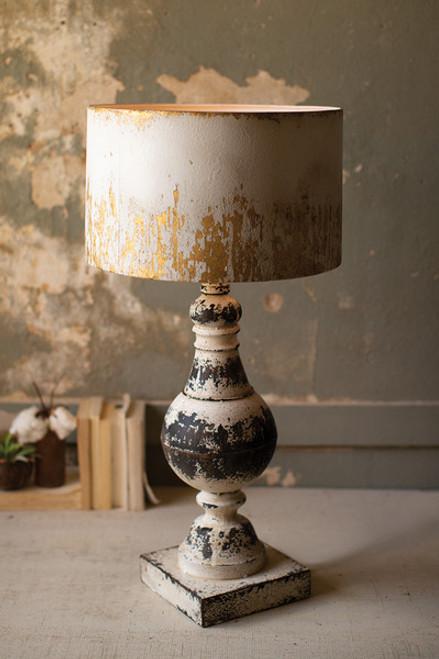 Metal Table Top Lamp