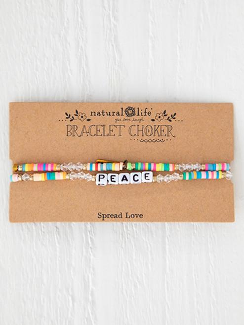 Peace Bracelet Choker