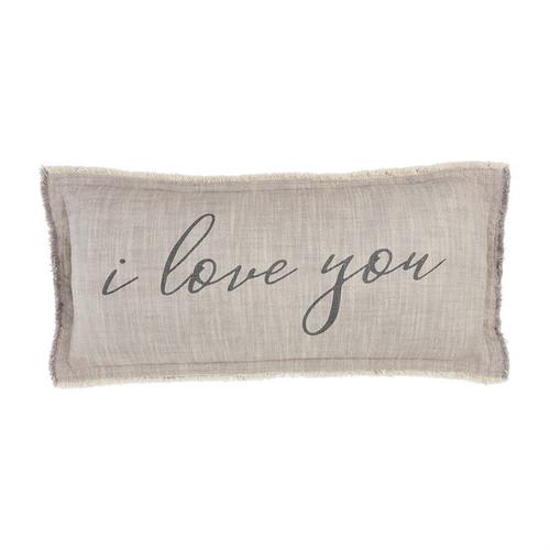 Love You Pillow 2