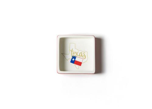 Texas Square Trinket Bowl
