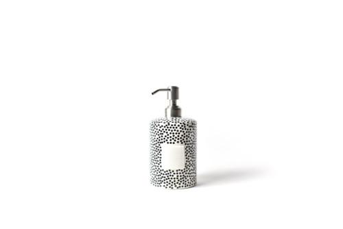 Black Dot Mini Cylinder Soap Pump