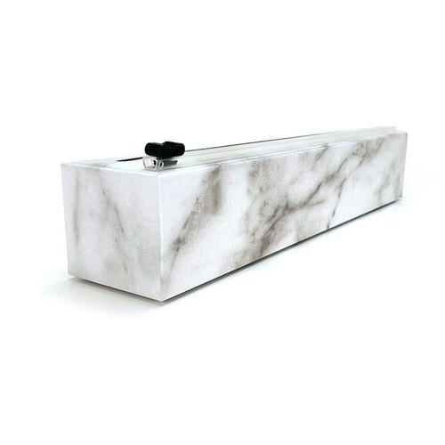 Carrara Marble Plastic Wrap Dispenser