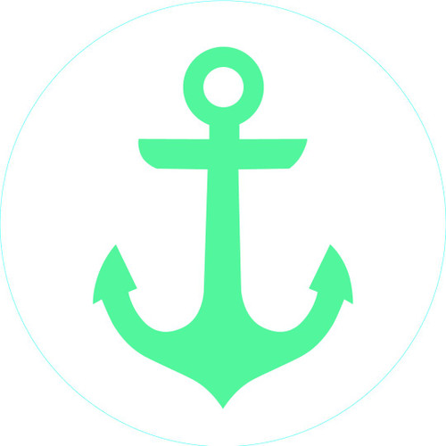 Turquoise Anchor Bogg Bit