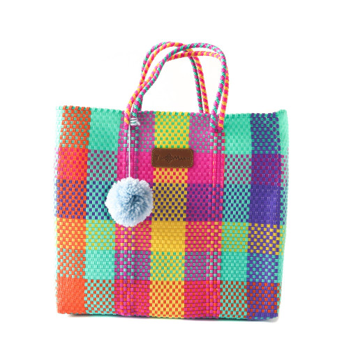Fiesta Woven Tote Bag