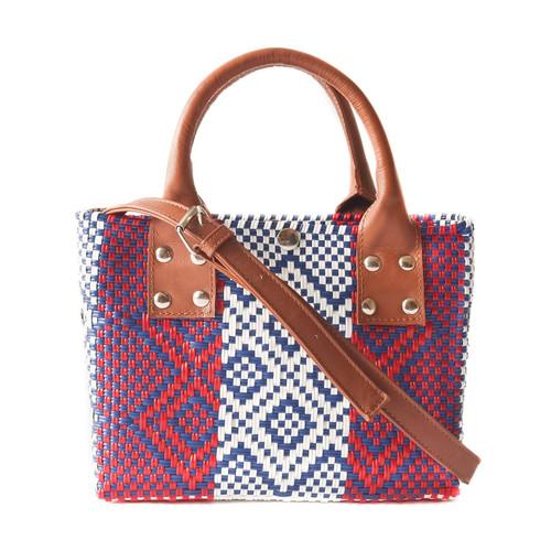 Piruli Small Woven Crossbody Bag
