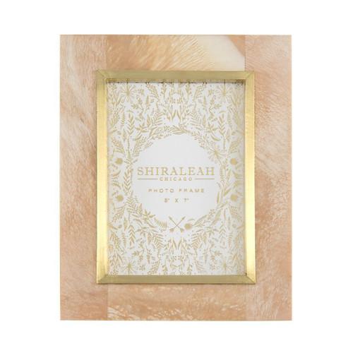 Blush Raj Marbleized 5x7 Frame